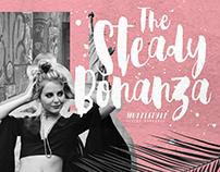 Steady Bonanza | Multi Style Hand Lettering Script Font
