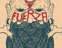 Poster/Tshirt - Fuerza