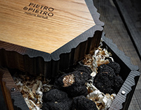 Pietro & Pietro fresh truffles packaging