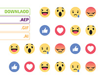Open Source Facebook New Reactions - Download