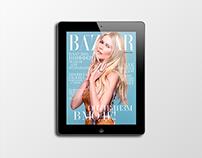 iPad Harper's Bazaar Russia Magazine 03 2015