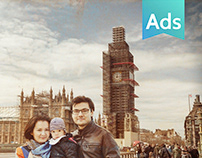 Come Back / Iberia Express ad print