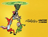 STEALING CHRISTMAS / IGNAT'EV INK x HARRISON RAY