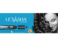 LE'SASHA REBRANDING PACKAGING DESIGNS
