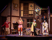 Noises Off - Set