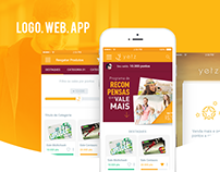 Logo, web, app - Yetz Programa de Recompensas