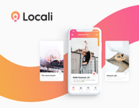 Locali // iOS app, website and new logo