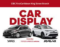 CIBC FirstCaribbean Car Show  Poster