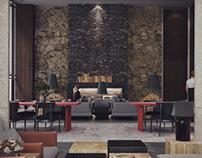 酒店设计3D稿