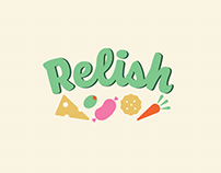 Relish of London: Logo Design