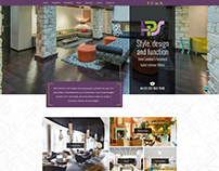 Interior Company Website