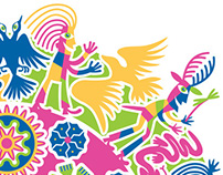Huichol Art Reinterpreted