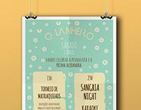 O Lanheiro Café-Bar Spring Party / Poster