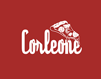 Corleone Pizzaria - Logotipo