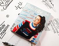 // Illustration & Typography Paulette Magazine #25 //