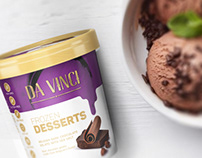 FROZEN DESSERTS DA VINCI | Packaging Design