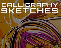Calligraphic Sketches (2011 - 2013)