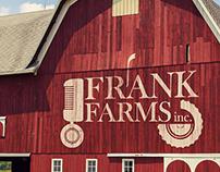 Frank Farms logo concept