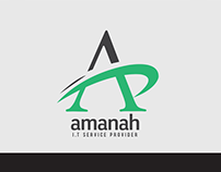 Proposed Logo Design for Amanah IT
