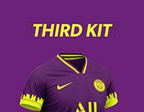 Paris Saint-Germain Football kit 21/22.