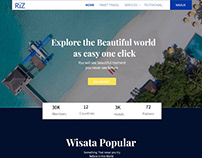 Travel UI Design