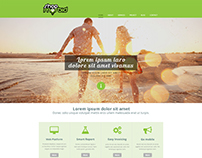 Website template 01