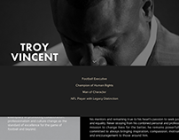 Troy Vincent Bio Website