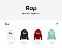 Rap - Hoodies & Crewnecks online shop