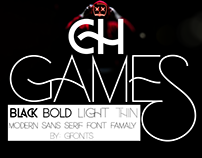 Ch Games Font - Free Demo