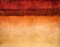 Landscape Series -- oil. the process