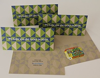 Studio Digital 2012 Get Lucky Christmas card