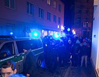 Ausschreitungen beim Neujahrsempfang der AFD Augsburg