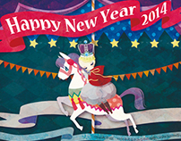 New Year card 2014.