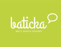 Old logo for baticka.com