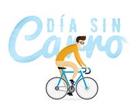 Ilustraciones Día Sin Carro