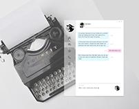 Chat messanger/Диалоговое окно