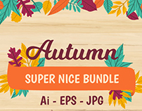 FREE Autumn Vectors (Cards, Banners, Badges, Patter
