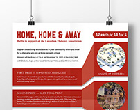 CDA Home, Home & Away poster design