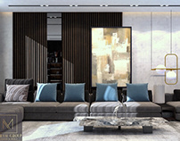 Contemporary Living Room | Kuwait