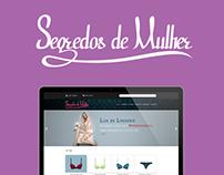 Segredos de Mulher E-commerce