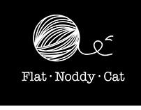 Flat Noddy Cat - Branding