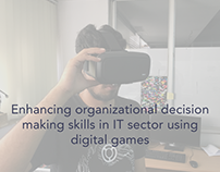 Enhancing organizational decision making skills in IT