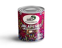 campaña publicitaria de la marca Jalapeños Gómez.