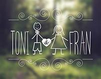 Convite de casamento tipográfico