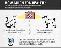 Cost of Pet Parenting Infographic