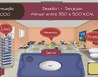 """Game Design of """"Prato Nutrição"""""""