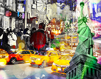 New York City Experimental Collage Projects