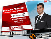 Billboard for Ozgur Deniz