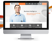 Microgen - Website Design