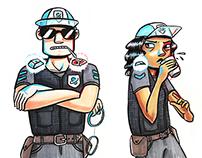 Traditional Media Cartoons